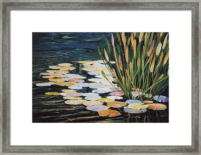 Across The Pond Framed Print by Ed Lucey