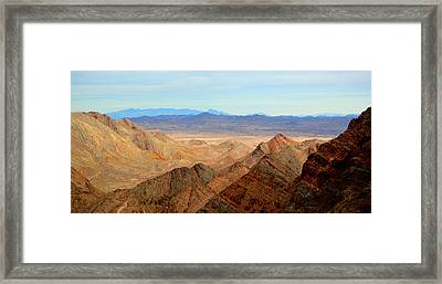 Across The Range Framed Print