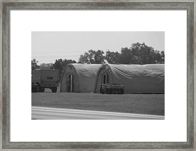 Across The Street Framed Print by Alexis Lape