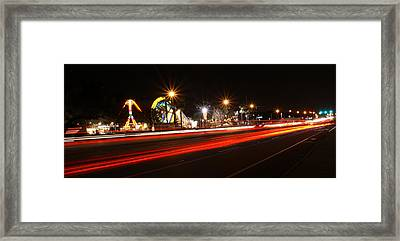 Across The Street Framed Print by Chauncy Holmes
