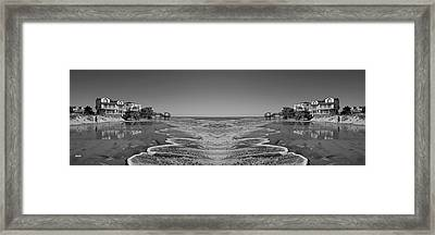 Across The Way Framed Print