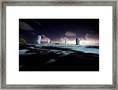 Across To The Other Side Framed Print