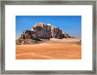 Across Wadi Rum Framed Print