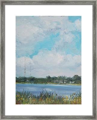 Across Winona Framed Print by Mike Yazel