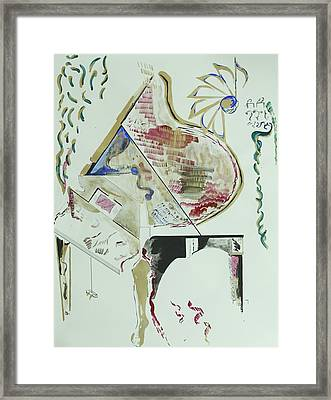 Acrylic Living Machine Framed Print by Contemporary Michael Angelo