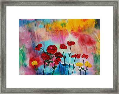 Acrylic Msc 101 Framed Print