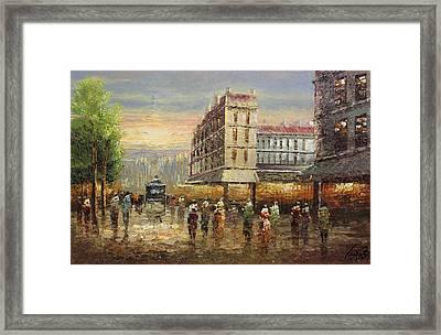 Acrylic Msc 132 Framed Print