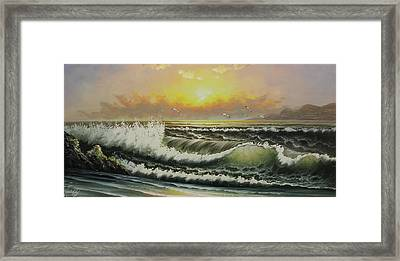 Acrylic Msc 148 Framed Print