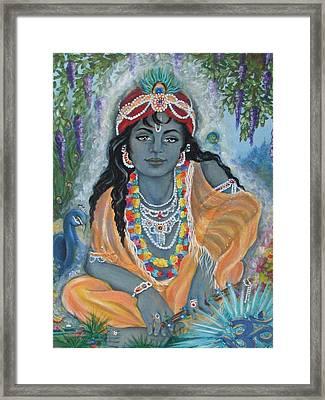 Acrylic On Canvas Framed Print