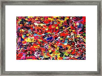 Acrylic Plaster Framed Print by Anton Kalinichev
