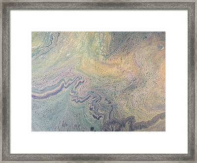 Acrylic Pour Painting - Acrylic Pour - Original Painting - Mixed Media Abstract - Abstract Painting Framed Print