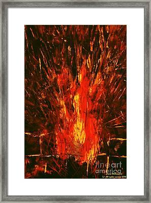 Acrylics Framed Print