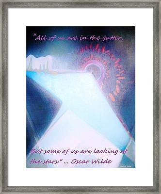Framed Print featuring the painting Act Of Creation by Denise Fulmer