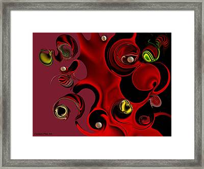 Act With Manufactured Energy Framed Print