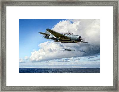 Action Avenger Framed Print by Peter Chilelli