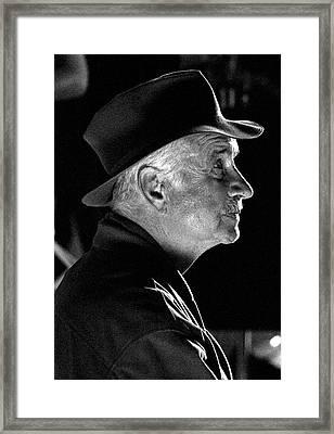 Actor Armin Mueller-stahl Framed Print