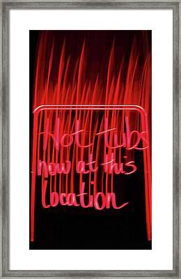 Framed Print featuring the photograph Ad by Cyryn Fyrcyd
