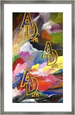 Ad Spa Framed Print