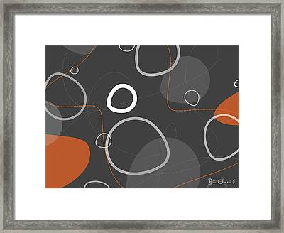 Adakame - Atomic Abstract Framed Print