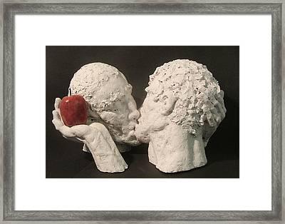 Adam And Adam Framed Print by Gary Kaemmer