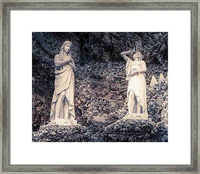 Adam And Eve Framed Print by Art Spectrum