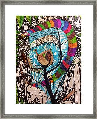 Adam And Eve  Framed Print by William Douglas