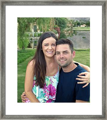 Adam And Lys Framed Print by Michael Pickett