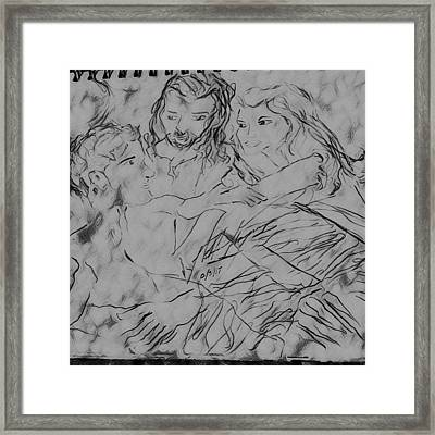 Adam Andeve The Creation Story Framed Print