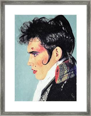 Adam Ant Framed Print