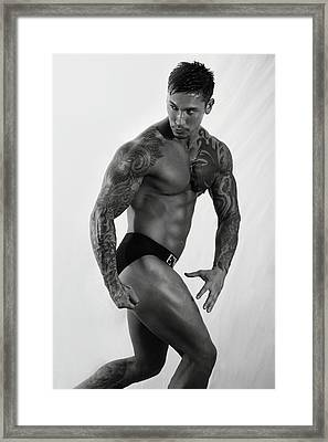 Adam Framed Print by Mark Ashkenazi