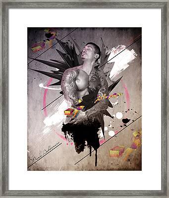 Adam Open Up  Framed Print by Mark Ashkenazi