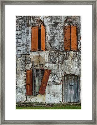 Adam Strain Building Framed Print by Capt Gerry Hare