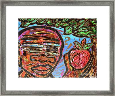 Adam's Apple Framed Print