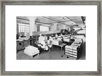 Adams Chewing Gum Framed Print by Underwood Archives