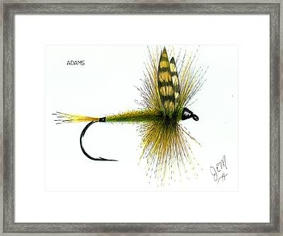 Adams Framed Print by James Eugene  Moore