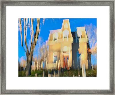 Adams Lodge Wellfleet Framed Print