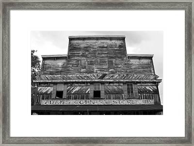 Adams Store 1865 Framed Print