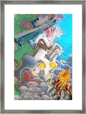 Addiction Framed Print by Cheri Doyle