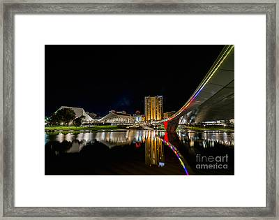 Adelaide Riverbank Framed Print