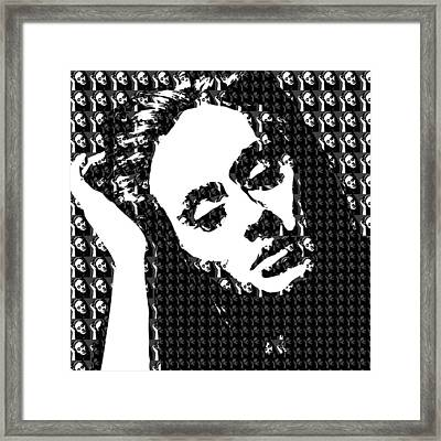 Adele 21 Album Cover Digital Art Framed Print