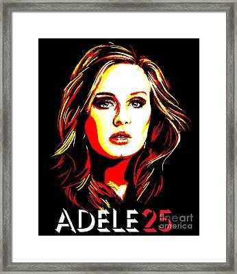 Adele 25-1 Framed Print