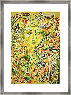 Adelita, In The Sun Framed Print
