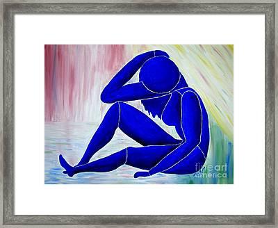 Adia Framed Print by Lisa Rose Musselwhite