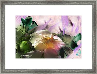 Framed Print featuring the photograph Adios Primavera  by Alfonso Garcia