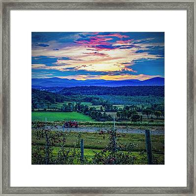 Adirondack Country Framed Print