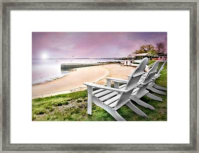 Adirondack Framed Print by Diana Angstadt