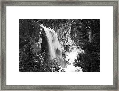 Adirondack Falls Framed Print