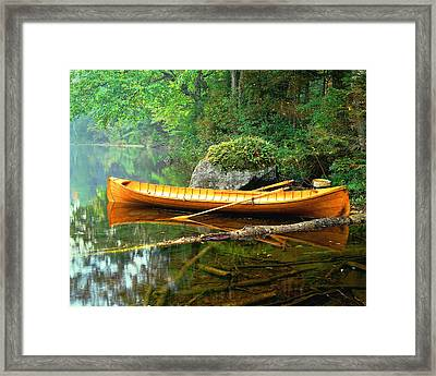 Adirondack Guideboat Framed Print