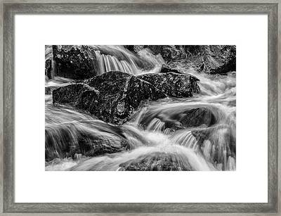 Adirondack Waterfall Framed Print