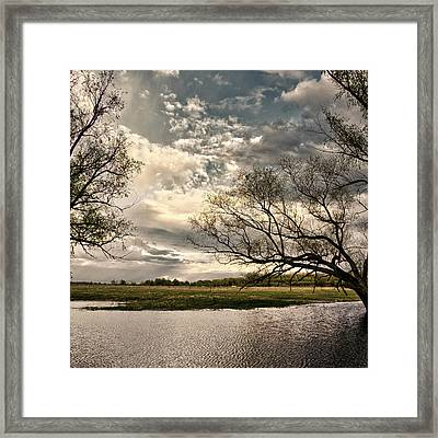 Framed Print featuring the photograph Admirable Skies. Horytsya, 2018. by Andriy Maykovskyi